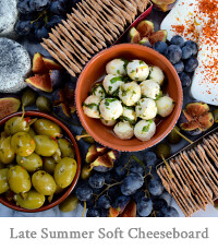 Late Summer Soft Cheeseboard