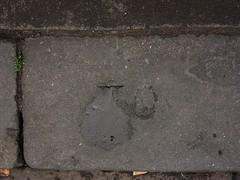 Kerbstone Mark, Newcastle upon Tyne