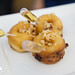 Sticky toffee drunken donuts by Tracy Wilk, Executive Pastry Chef of SaltBrick Tavern