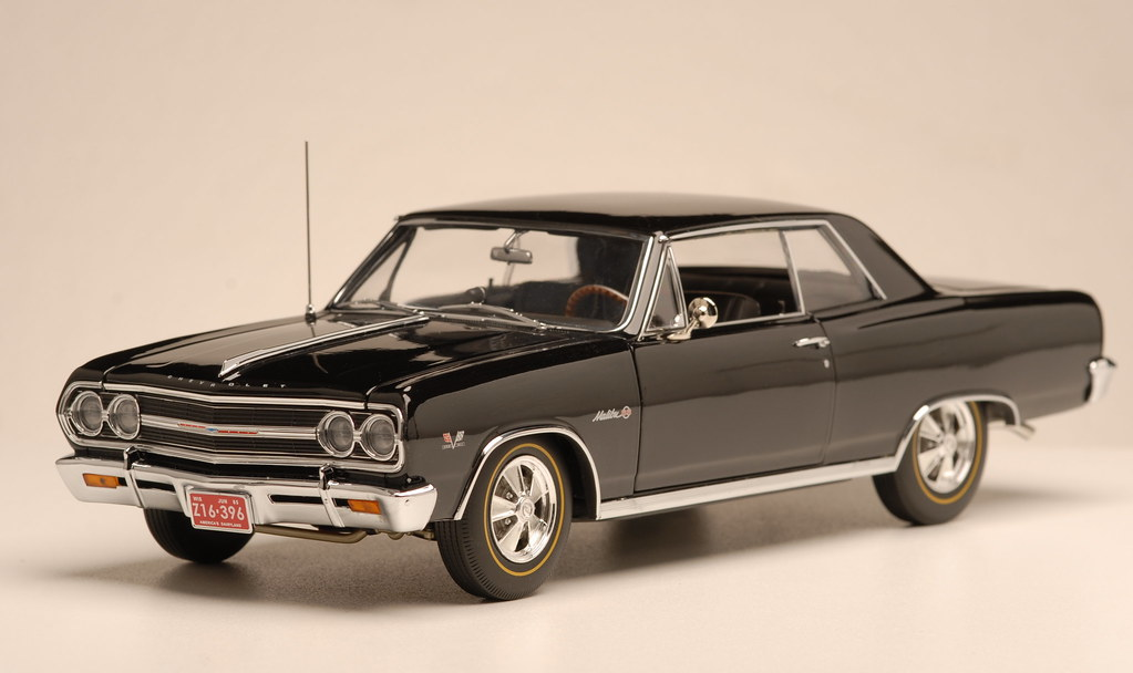 1:18 1965 Chevrolet Chevelle Z16 - DX Muscle Cars | Pony Cars | Hot
