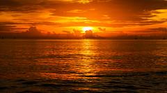 Sunrise at Hua Hin, Thailand