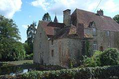 Manoir de la Cour (XVIe s.) à Sainte-Croix-sur-Orne
