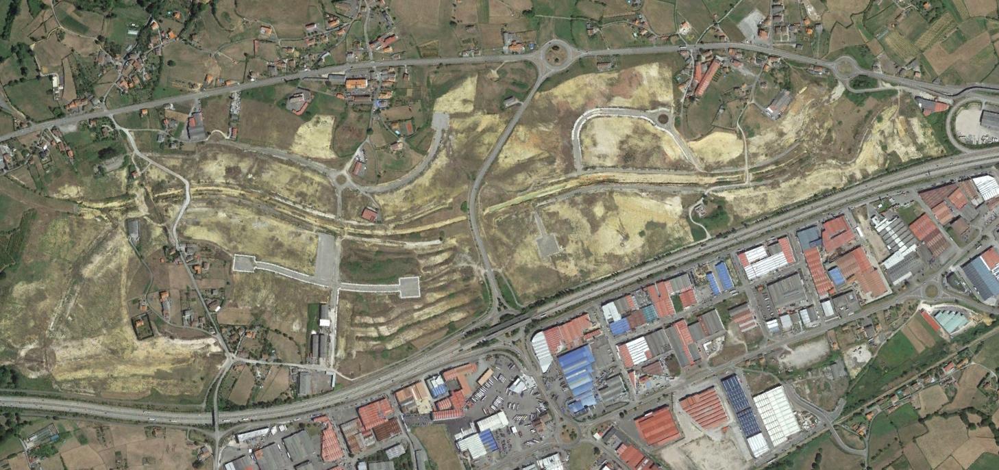 balbona, asturias, con uve de valle, después, urbanismo, planeamiento, urbano, desastre, urbanístico, construcción, rotondas, carretera