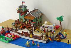 Motif Number 2/Fisherman's Wharf (21310 Old Fishing Store MOD)