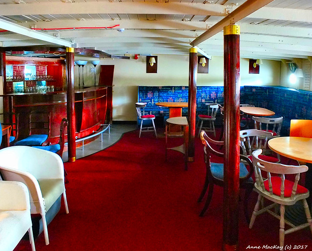 Scotland West Highlands Argyll Loch Lomand the lower bar of the paddle steamer Maid of the Loch 14 September 2017 by Anne MacKay