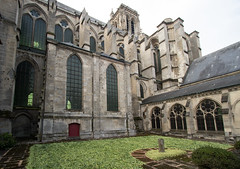 North side of Soissons Cathedral