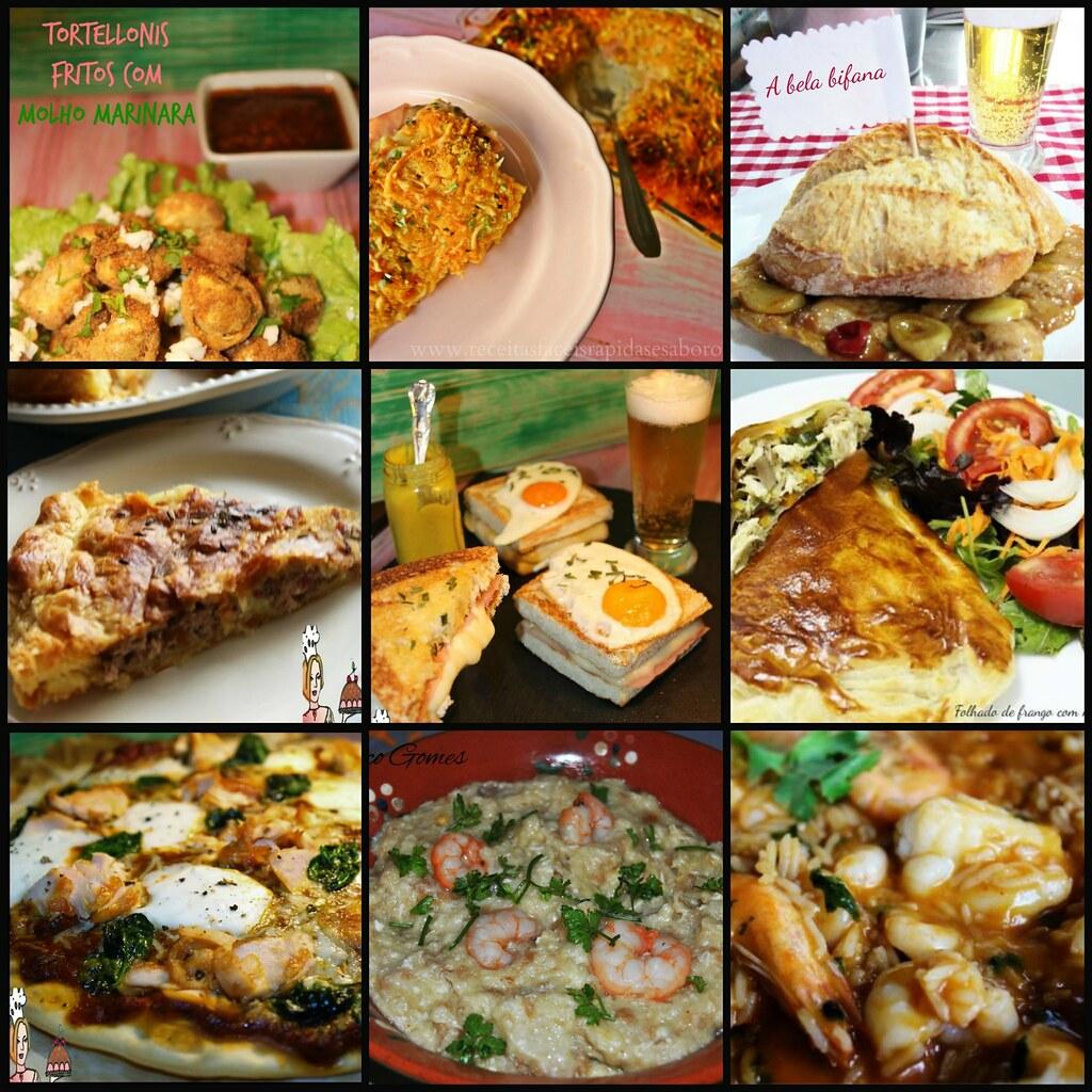 ideias para jantar
