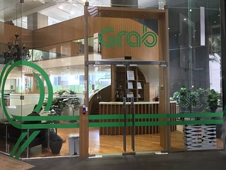 Grab office in Singapore