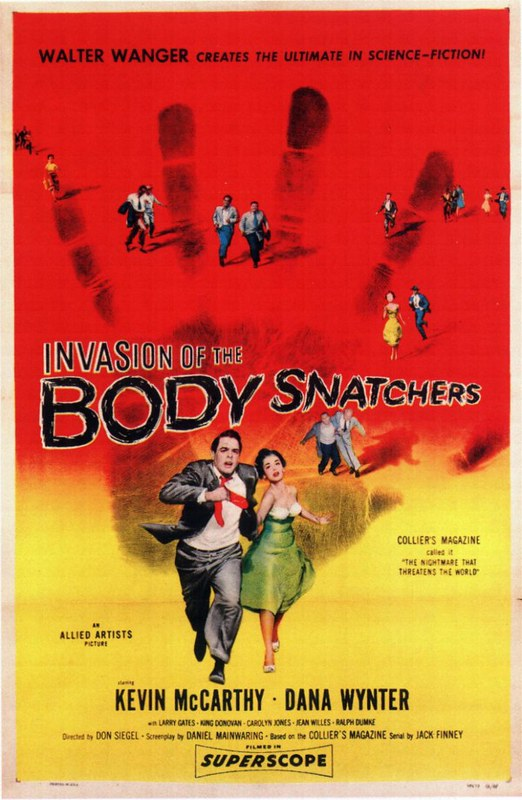Invasion of the Body Snatchers - 1956 - Poster 3