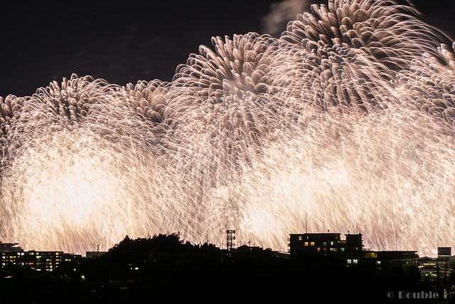distant view of Biwako Fireworks Festival 2017 (29)