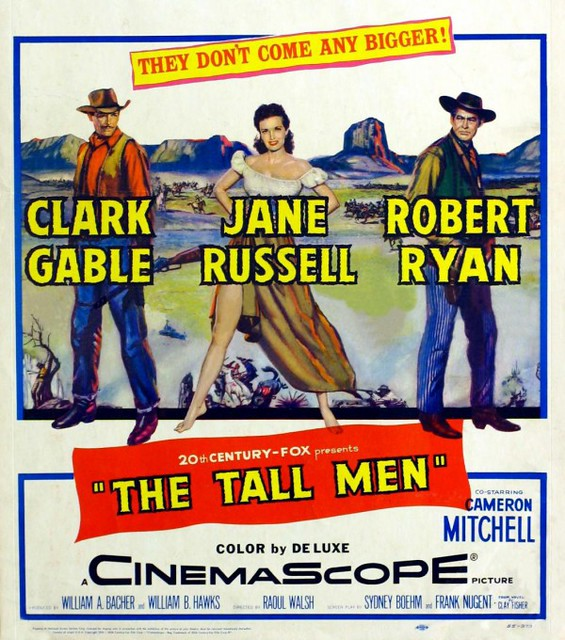 The Tall Men - Poster 1
