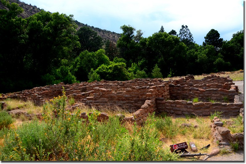 Ruins in Bandelier National Monument 1