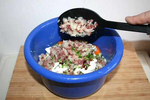 39 - Speck & Zwiebel dazu geben / Add bacon & onion