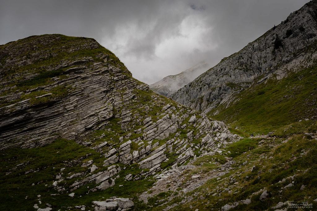 La montagne à l'état brut