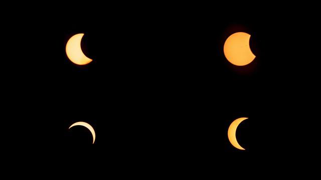 Solar Eclipse 2017 Collage