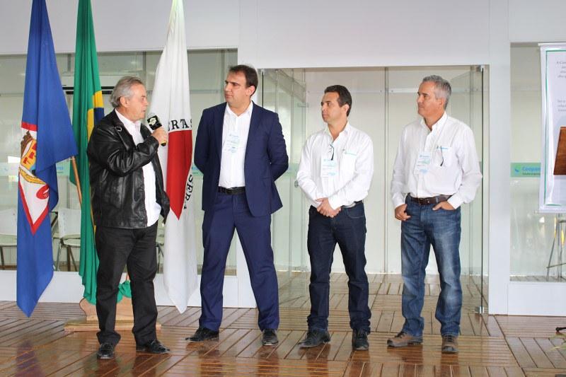 Presidente do CCCMG participa da abertura da 13ª FENEC – Feira de Negócios Coopama