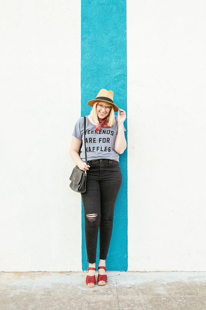 austin fashion blogger writes like a girl weekends are for waffles shirt12