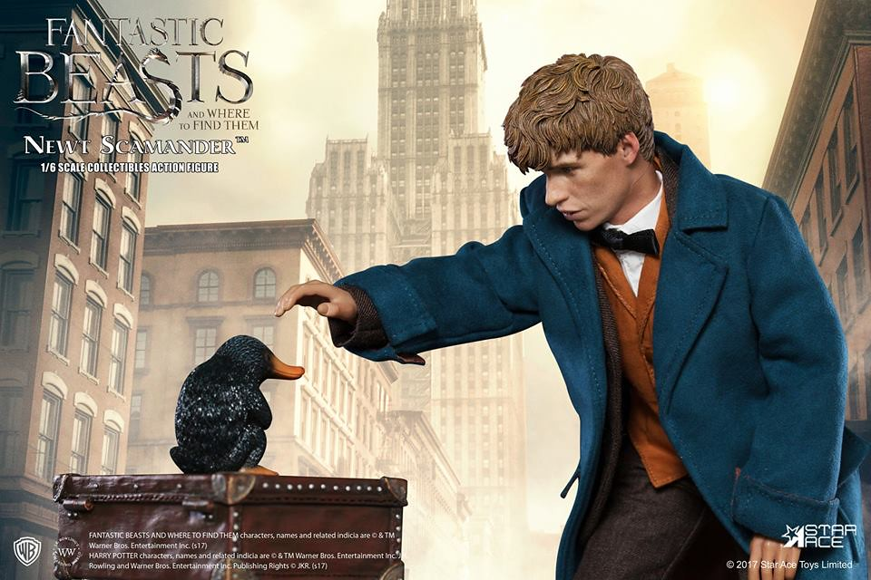 Star Ace Toys 怪獸與牠們的產地【紐特.斯卡曼德】Newt Scamander 1/6 比例人偶作品
