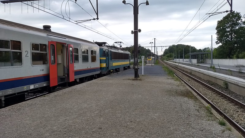 La Hulpe. Delay on the Brussels rail network