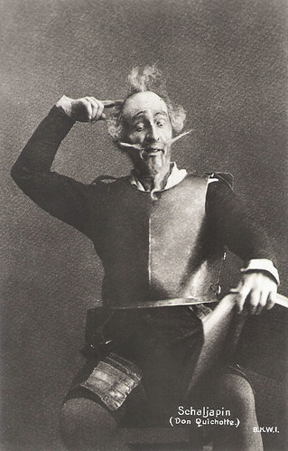 Feodor Chaliapin as Don Quixote