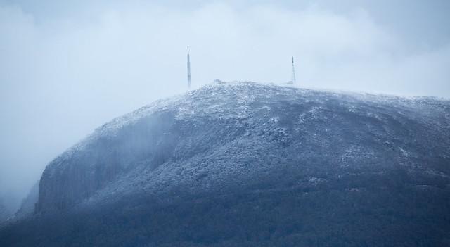 Profile of a Frozen Mountain
