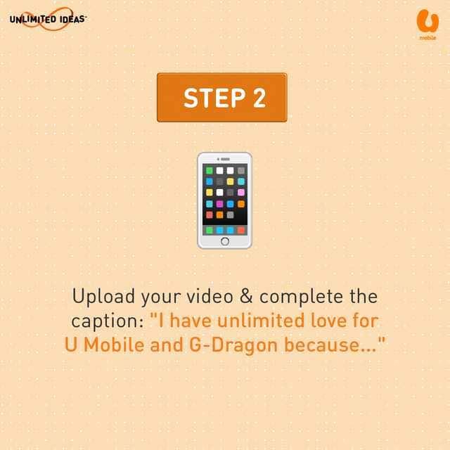 U Mobile G-Dragon Contest - Step 2