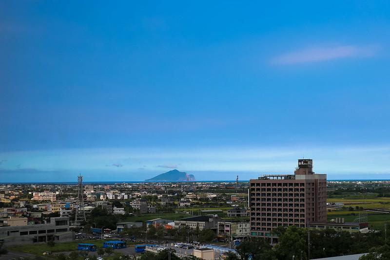 宜蘭長榮鳳凰酒店遠眺龜山島