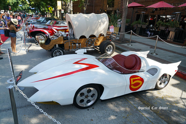 1999 MACH 5 Prototype as depicted in TV series Speed Racer