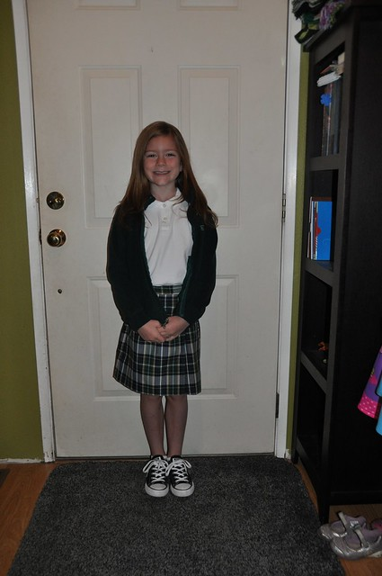 Ana First Day of 2nd Grade