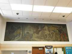 Wakefield, NY Post Office Mural