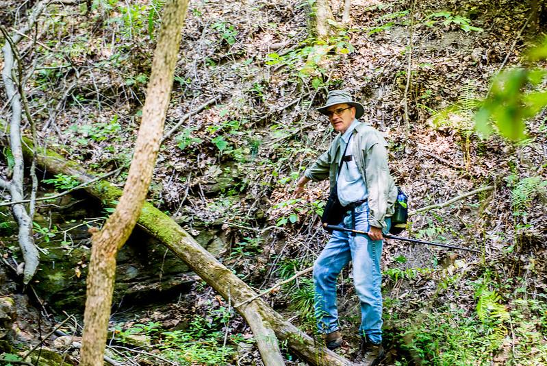 Hoosier National Forest - Charles C. Deam Wilderness - Mt. Carmel Fault - September 8, 2017