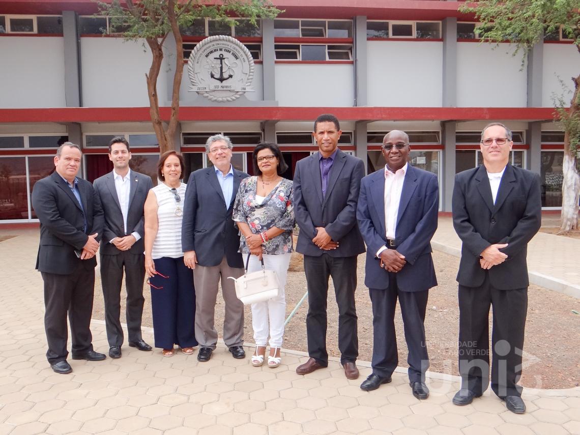 Vista do Embaixador do Brasil em Cabo Verde