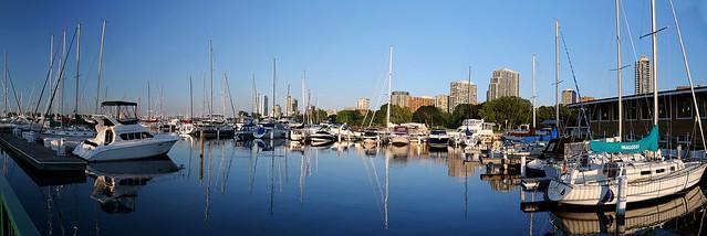 Morning at McKinley Marina