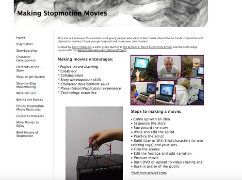 Making Stopmotion Movies in the Classroom