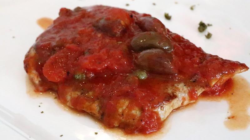 Vitello Alla Pizzaiola