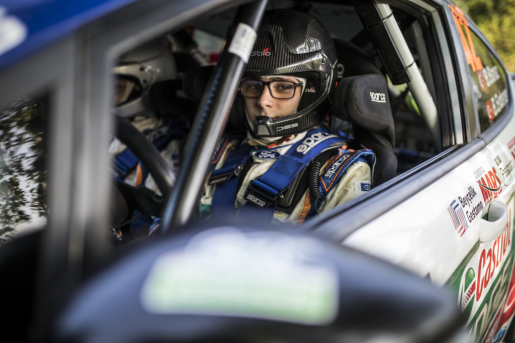 BANAZ Bugra (TUR) ERDENER Burak (TUR) Ford Fiesta R2 ambiance portrait during the 2017 European Rally Championship ERC Barum rally,  from August 25 to 27, at Zlin, Czech Republic - Photo Gregory Lenormand / DPPI