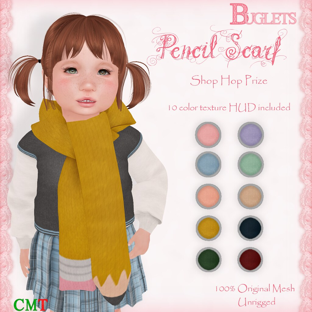 Pencil Scarf AD - SecondLifeHub.com