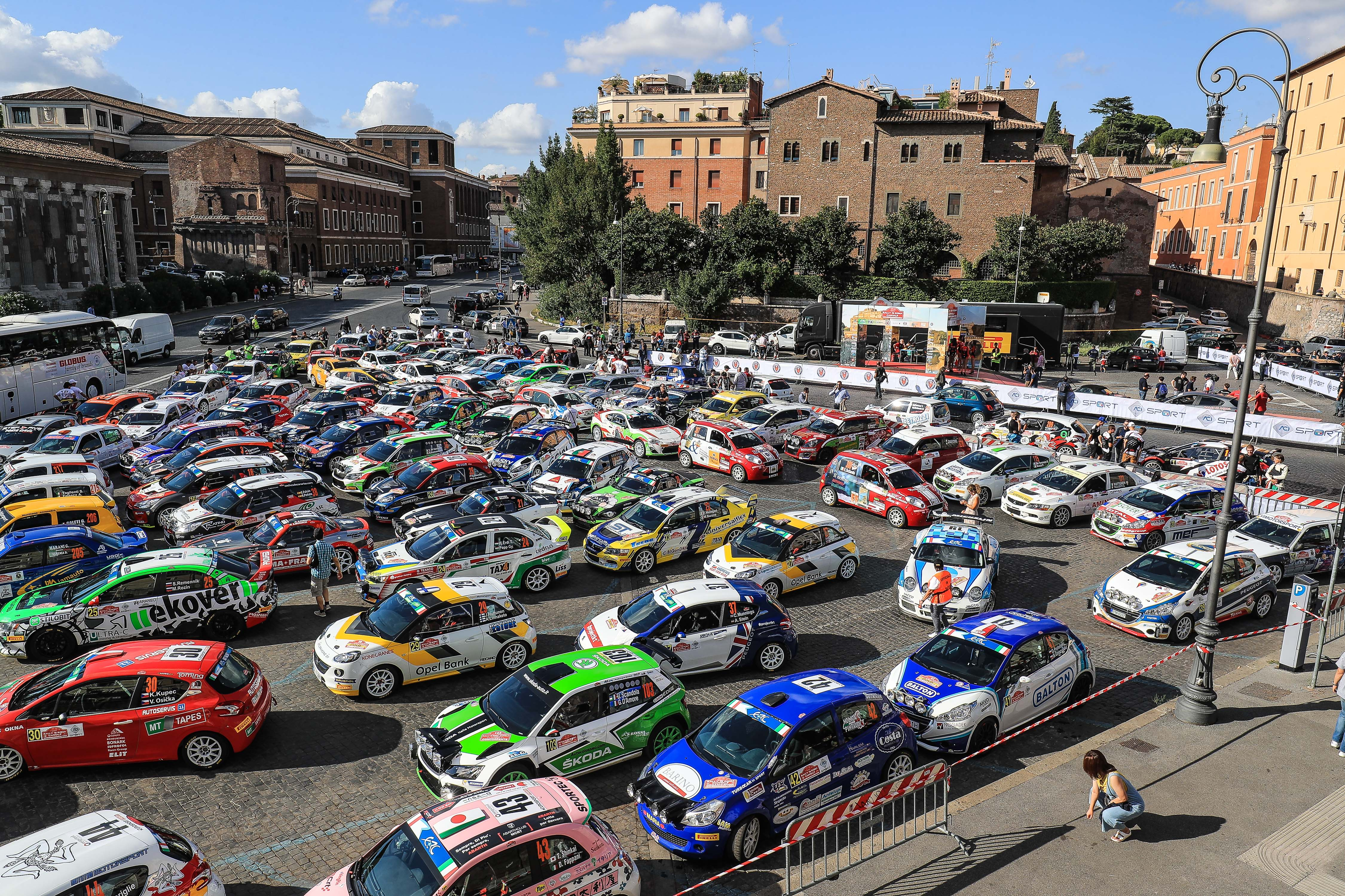 Quality and quantity: ERC Rally di Roma Capitale gets strong entry