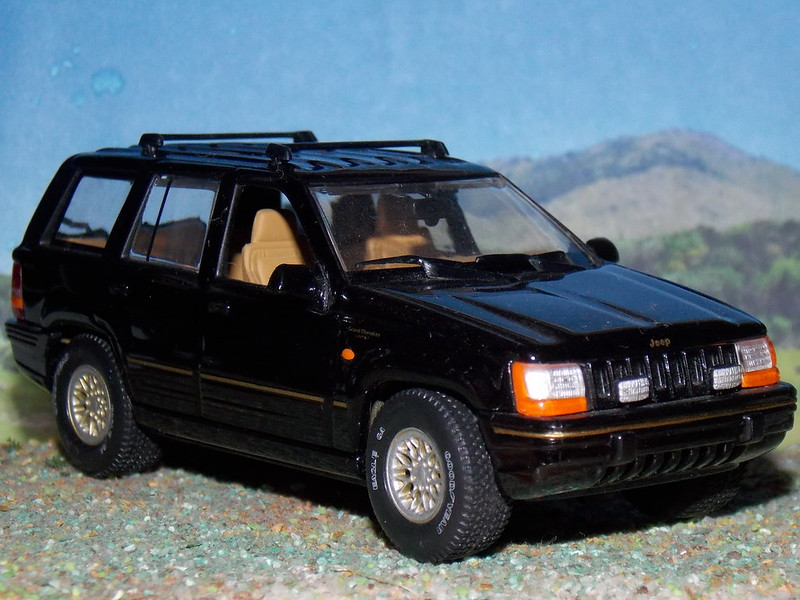 Jeep Grand Cherokee - 1993 - Minichamps