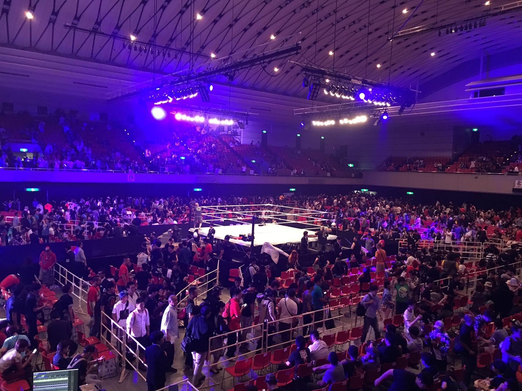 WWE Live Japan 2017 @エディオンアリーナ大阪 観戦レポート