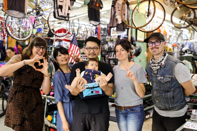 SWIFT INDUSTRIES JAPAN TOUR 2017 -Blue Lug Kamiuma-