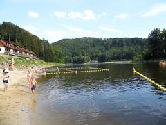 Bystrzyckie Lake, Zagórze Śląskie.