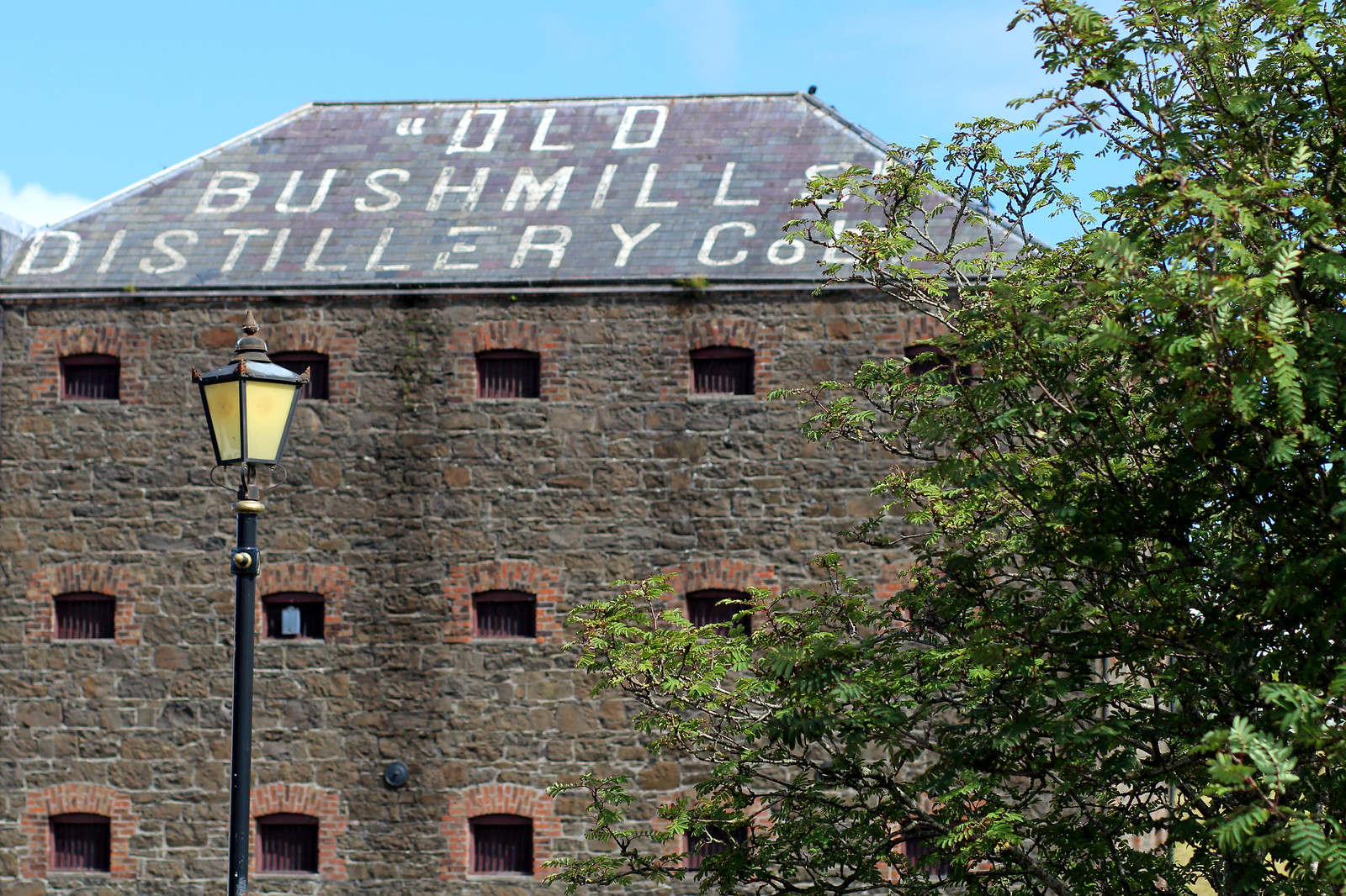 Old Bushmills Distillery Northern Ireland travel blogger UK