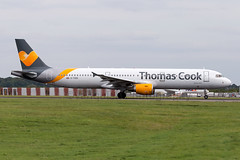 G-TCDX Thomas Cook Airlines A321 London Stansted Aiprort