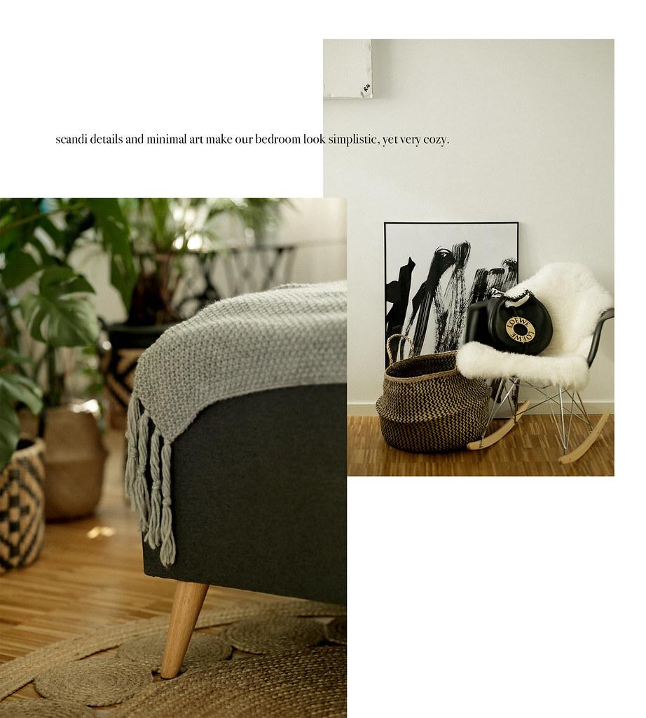 Home24 Bedroom Schlafzimmer Bett Scandi Scandinavian Minim Flickr