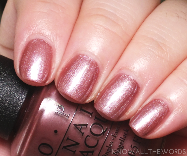 OPI Iceland Collection Reykjavik has all the hot spots