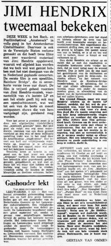 DE TIJD (NETHERLANDS) JULY 5, 1971