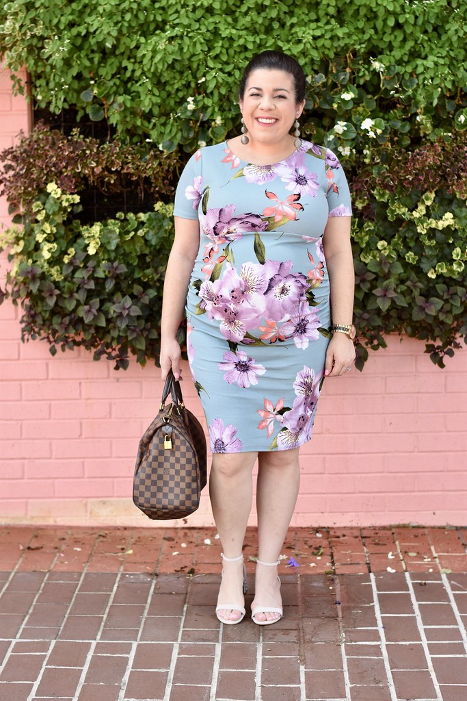 Floral Maternity Dress-@headtotoechic-Head to Toe Chic