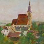1942 Pfarrhof&Kirche Feuereisen1