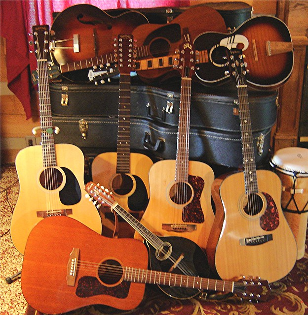 Photo:Too may guitars By wildrosetn39
